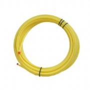 Yellow PS80 SDR17 DMPE Gas Service Pipe